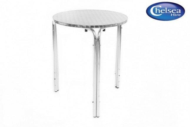 Aluminium/Bistro Table