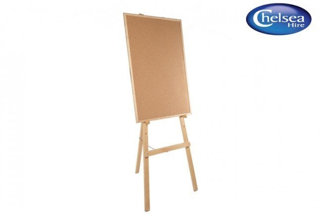 Easel Wooden with board (60cm x 90cm)
