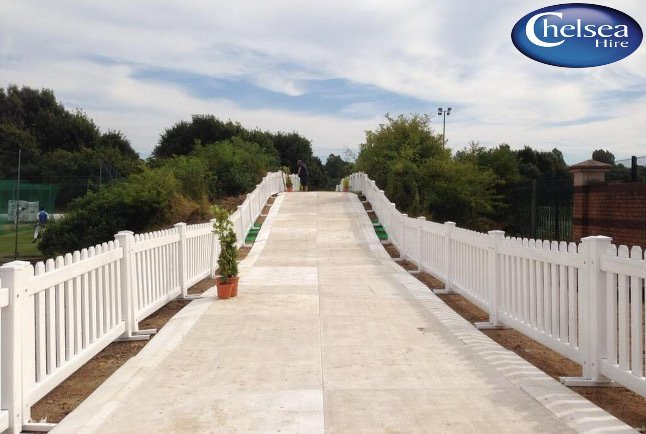 Picket Fencing White (PVC) 6ft (1.83m)