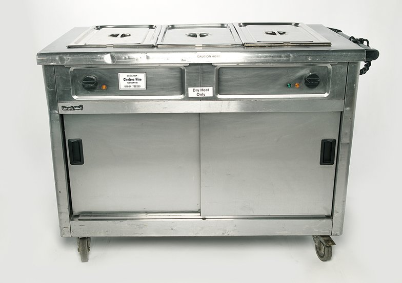 Hot Cupboard (Large) with treble bain marie