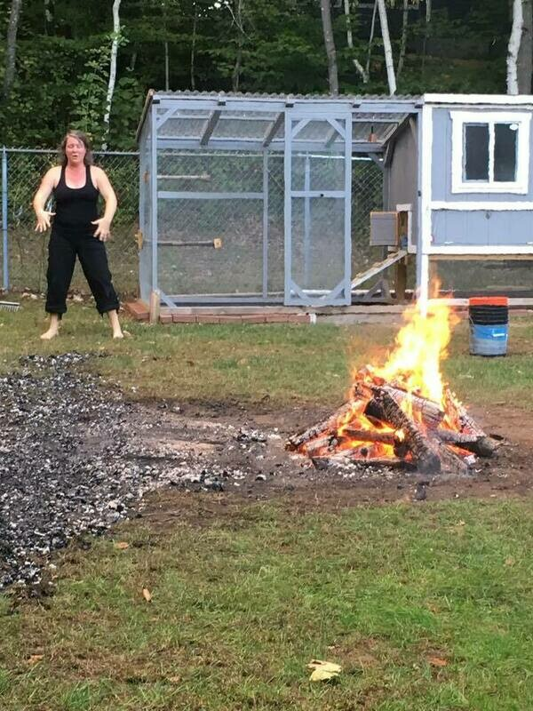 Fire Walk Facilitation