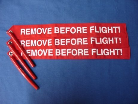 Remove Before Flight Flag RBF 7101-6