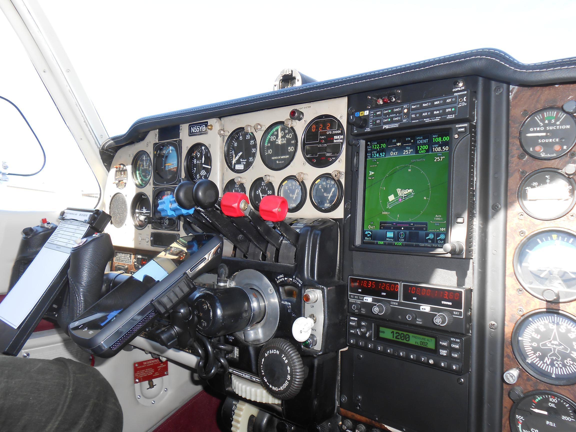 RPM/Propeller Control Knob