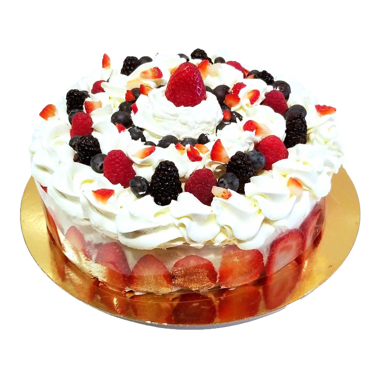 Mixberries Cake