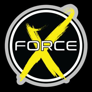 X Force 3x3 Sticker