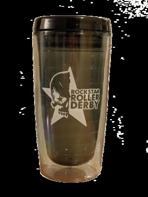 Rockstar Roller Derby Souvenir Tumbler