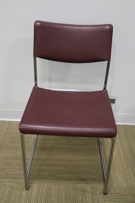 Maroon Side Chair