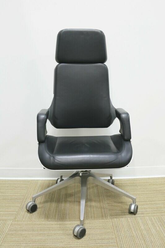 Silver Executive Desk Chair