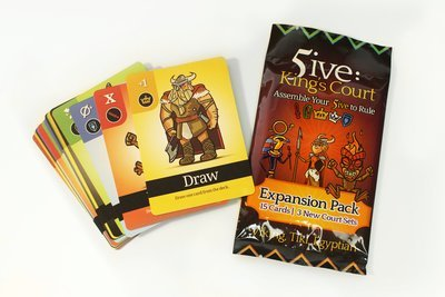 5ive: King's Court 5-6 Player Expansion Pack