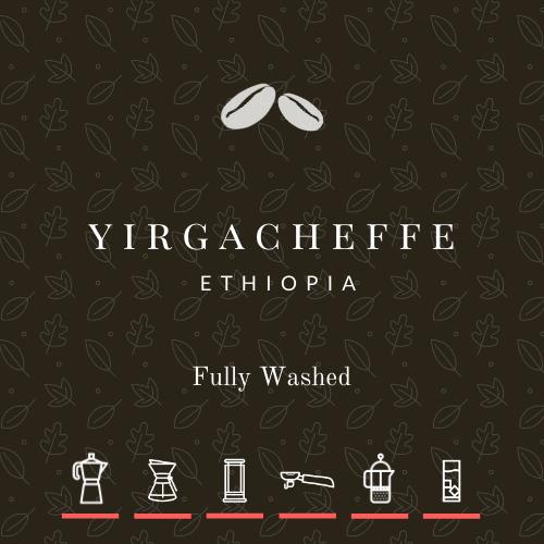 NEW! Ethiopia Yirgacheffe Washed