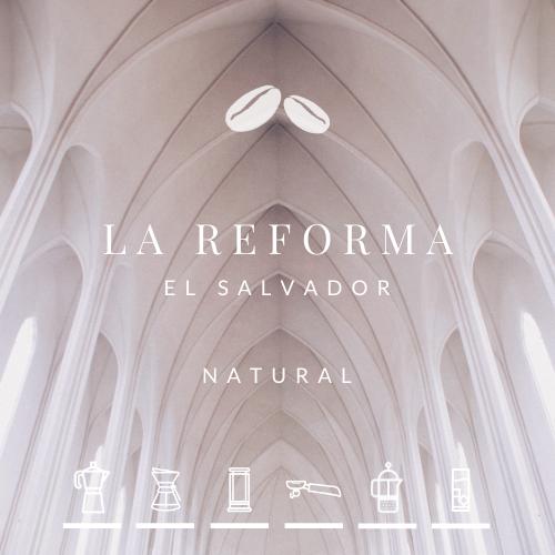 NEW! El Salvador La Reforma Natural