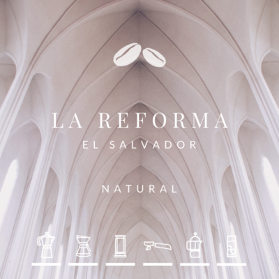 NEW! El Salvador La Reforma Natural