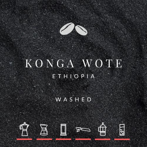 NEW! Ethiopia Konga Wote Washed