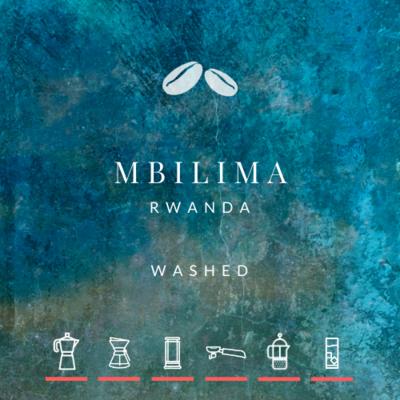 NEW! Rwanda Mbilima Washed