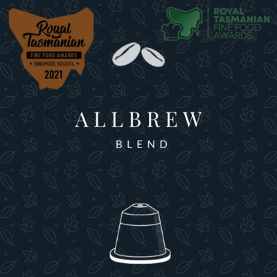 NEW! Allbrew Blend (20 Nespresso® Biodegradable & Compostable Capsules)