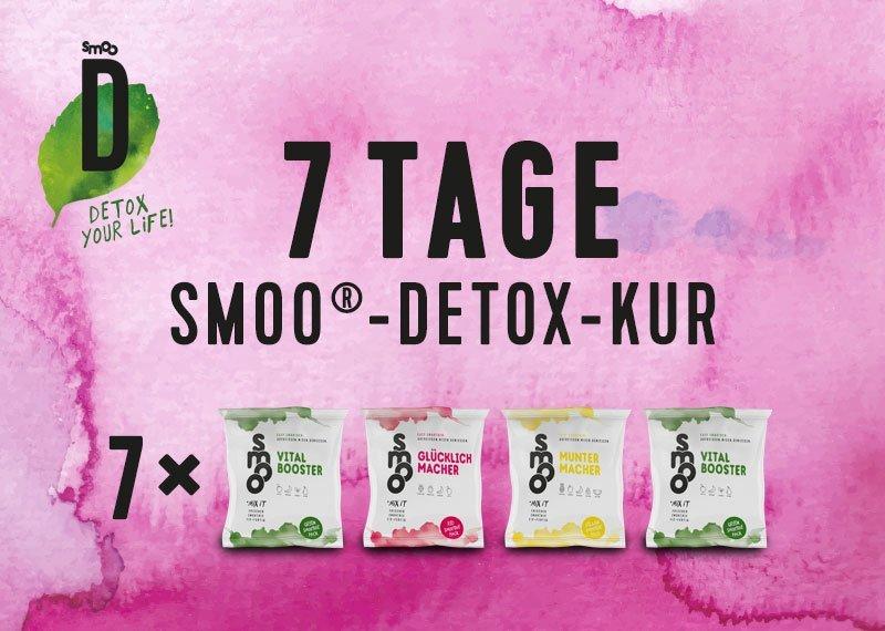 7 Tage smoo®-Detox-Kur