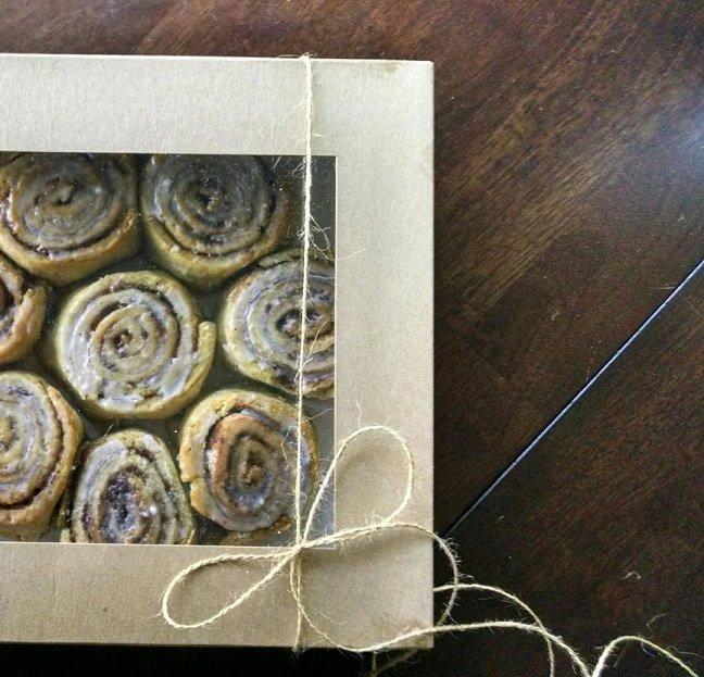 Cinnamon Bun Coffee Cakes [GF + V]