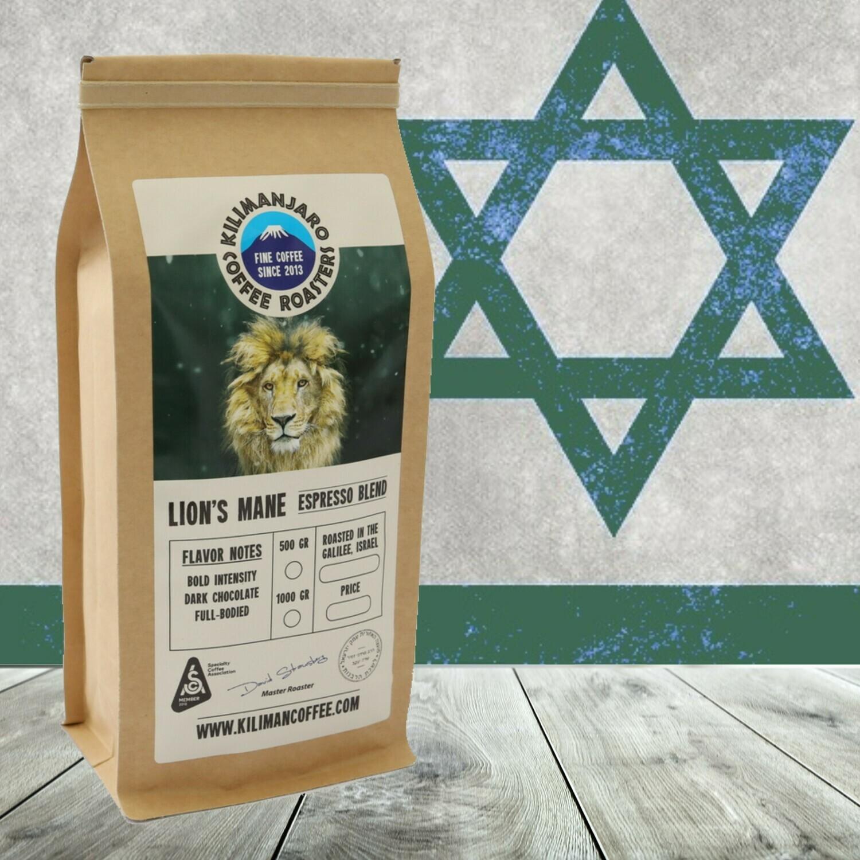 Lion's Mane Espresso Blend, 15 oz bag