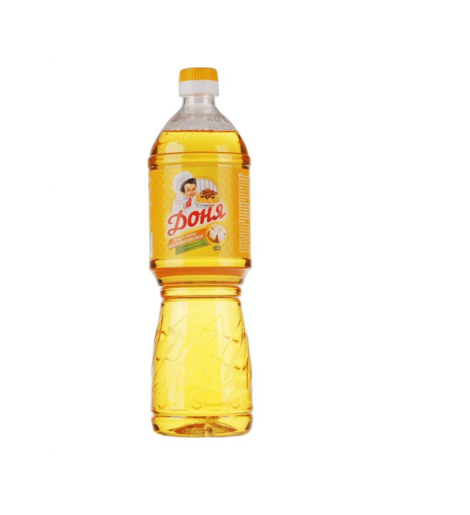 """Масло хлопковое """"Доня"""" 1 л"""