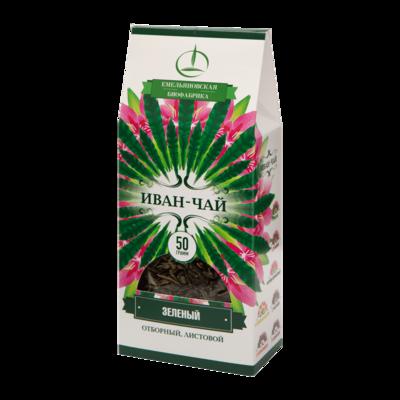 Иван-чай зеленый листовой 50 гр