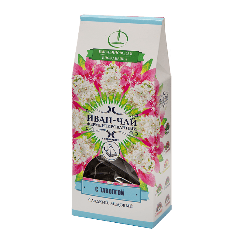 Иван-чай ферментированный с таволгой в пирамидках 30гр