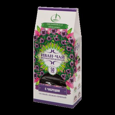Иван-чай ферментированный с чабрецом 50 гр