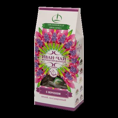 Иван-чай ферментированный с вереском в пирамидках, 30 гр