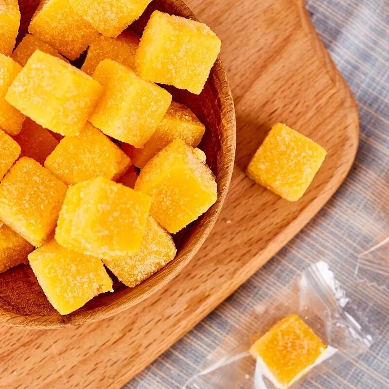 Жевательные конфеты из манго (кубики) 1 кг