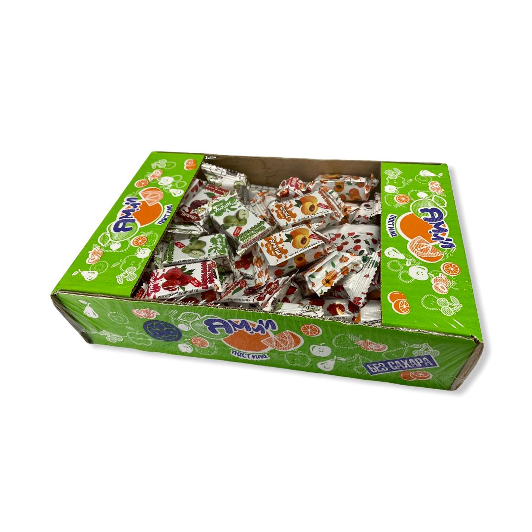 Пастилушки Ямми фруктовые без сахара 1кг