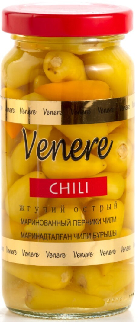 """Маринованные перчики Venere """"Чили"""" 250 мл"""
