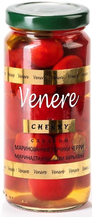 """Маринованные перчики Venere """"Черри"""" 250 мл"""