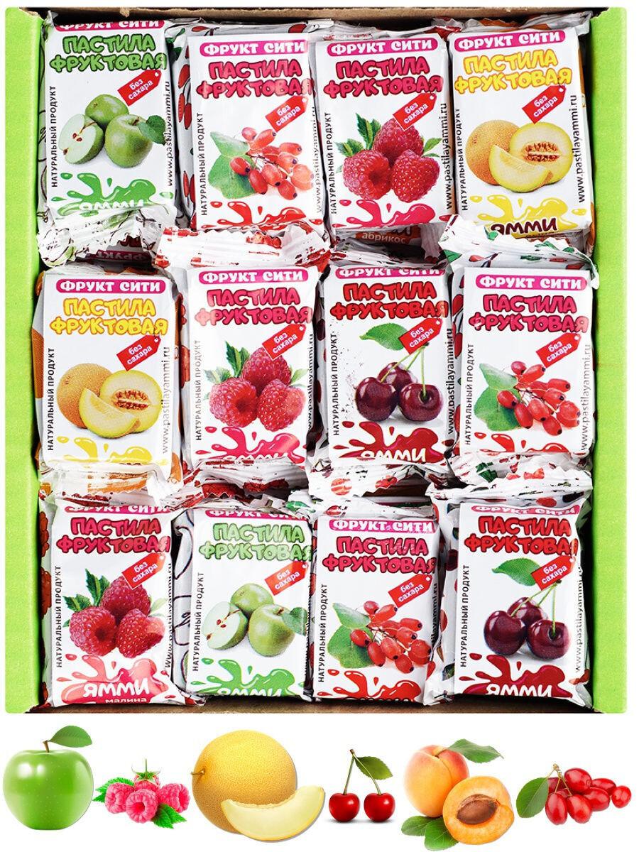 Пастилушки Ямми фруктовые без сахара 0,5 кг