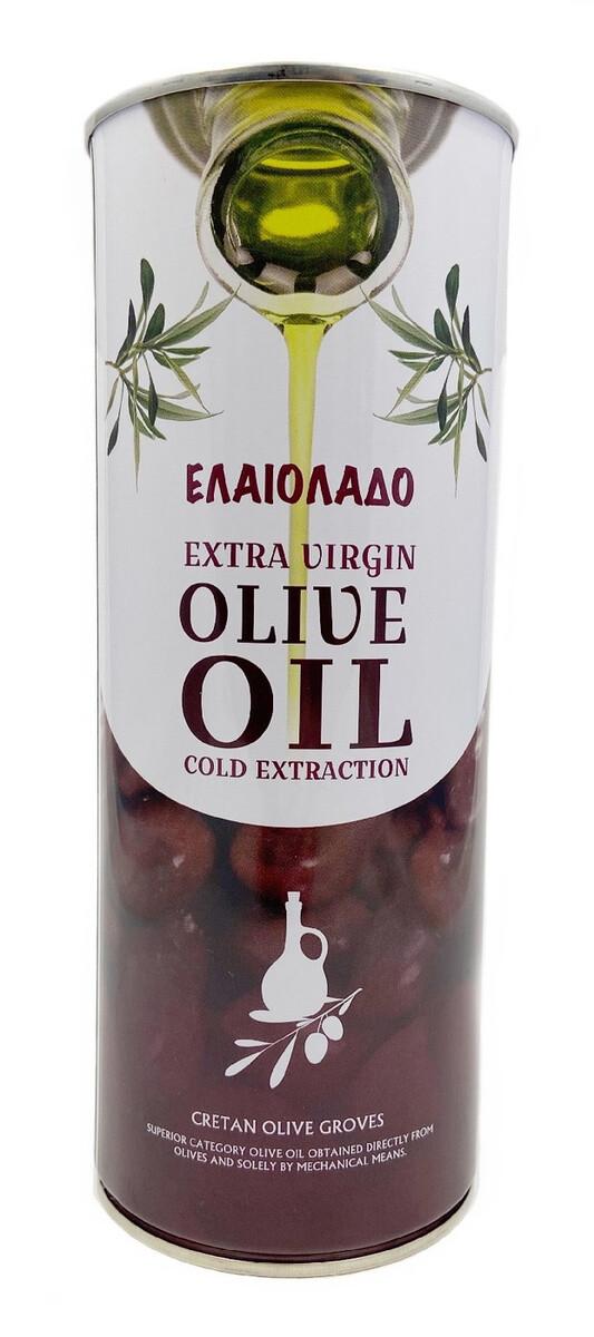 Оливковое масло ELAIOLADO Extra Virgin 1л