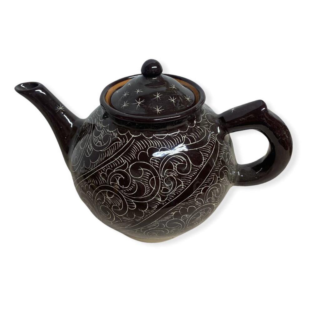 Чайник керамический, 700 мл. Риштанская керамика