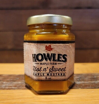 Maple Mustard - Hot & Sweet