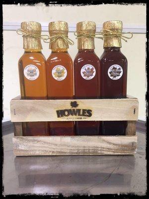 Maple Syrup Grade Sampler (4 Pack)