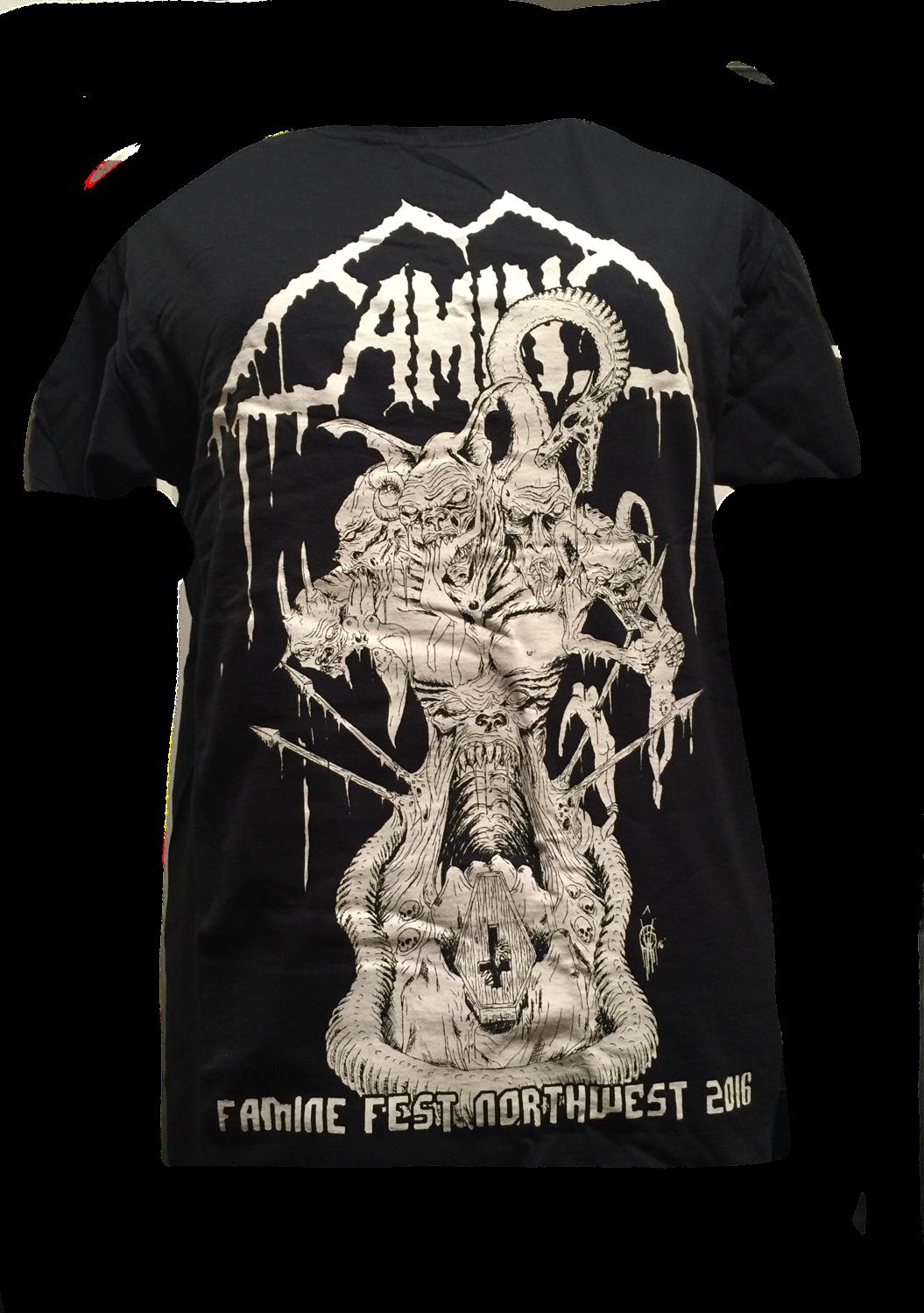Famine Fest 2016 Shirt - Size Extra Large