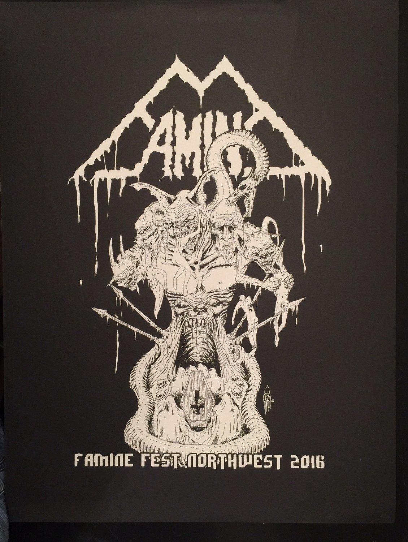 Famine Fest 2016- Art Poster