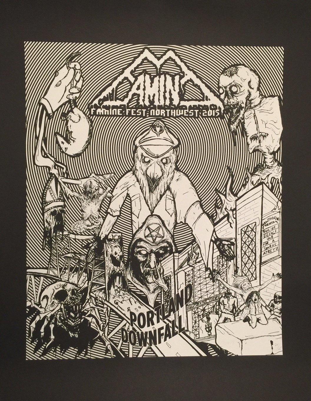 Famine Fest 2015- Art Poster