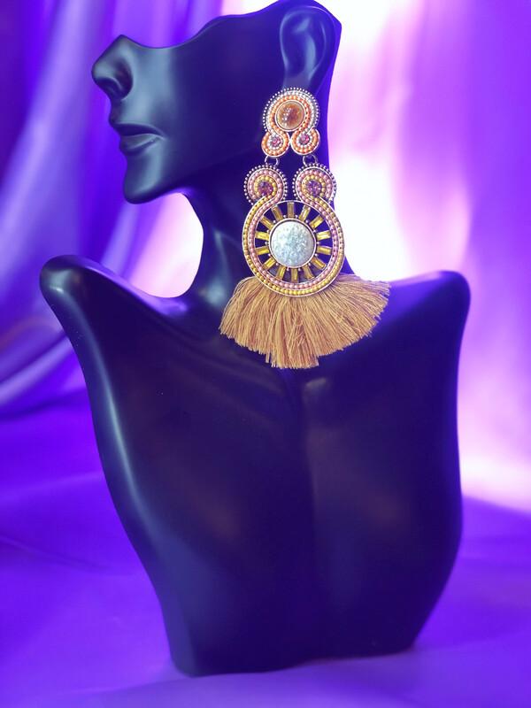Aztec Queen Earrings
