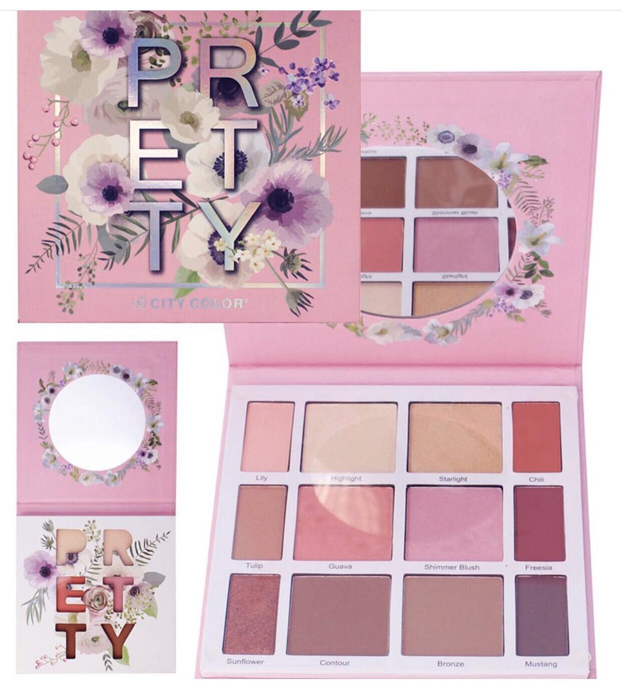 Pretty Palette (highlight, Contour, Blush)