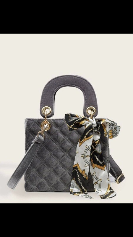 Quilted Satchel Bag