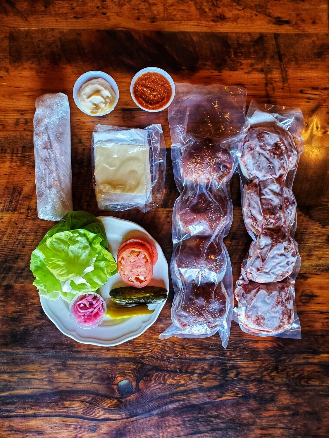The Burger Meal (For 4)