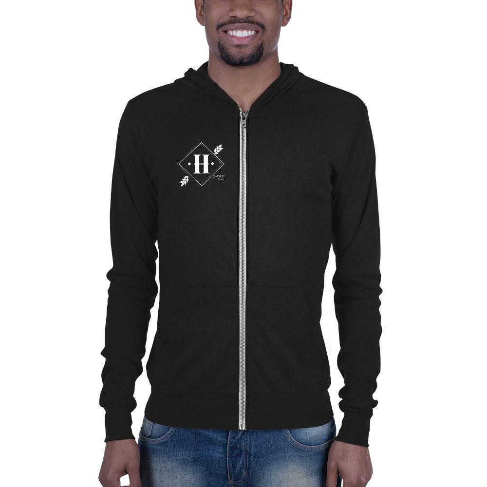 Harvest/Blind Boar unsiex zip hoodie