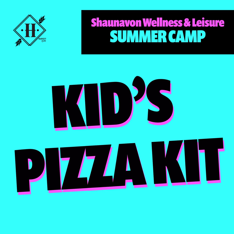Kid's Pizza Kit - SUMMER CAMP