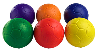 PE Middle School Foam Tchoukball (pack of 6) (size 1)