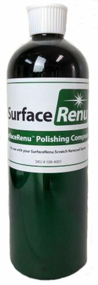 Surface Renu 16oz. White/Black Polishing Compound