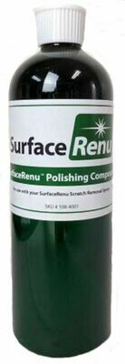 Surface Renu 16oz. White/Black Polishing Compound