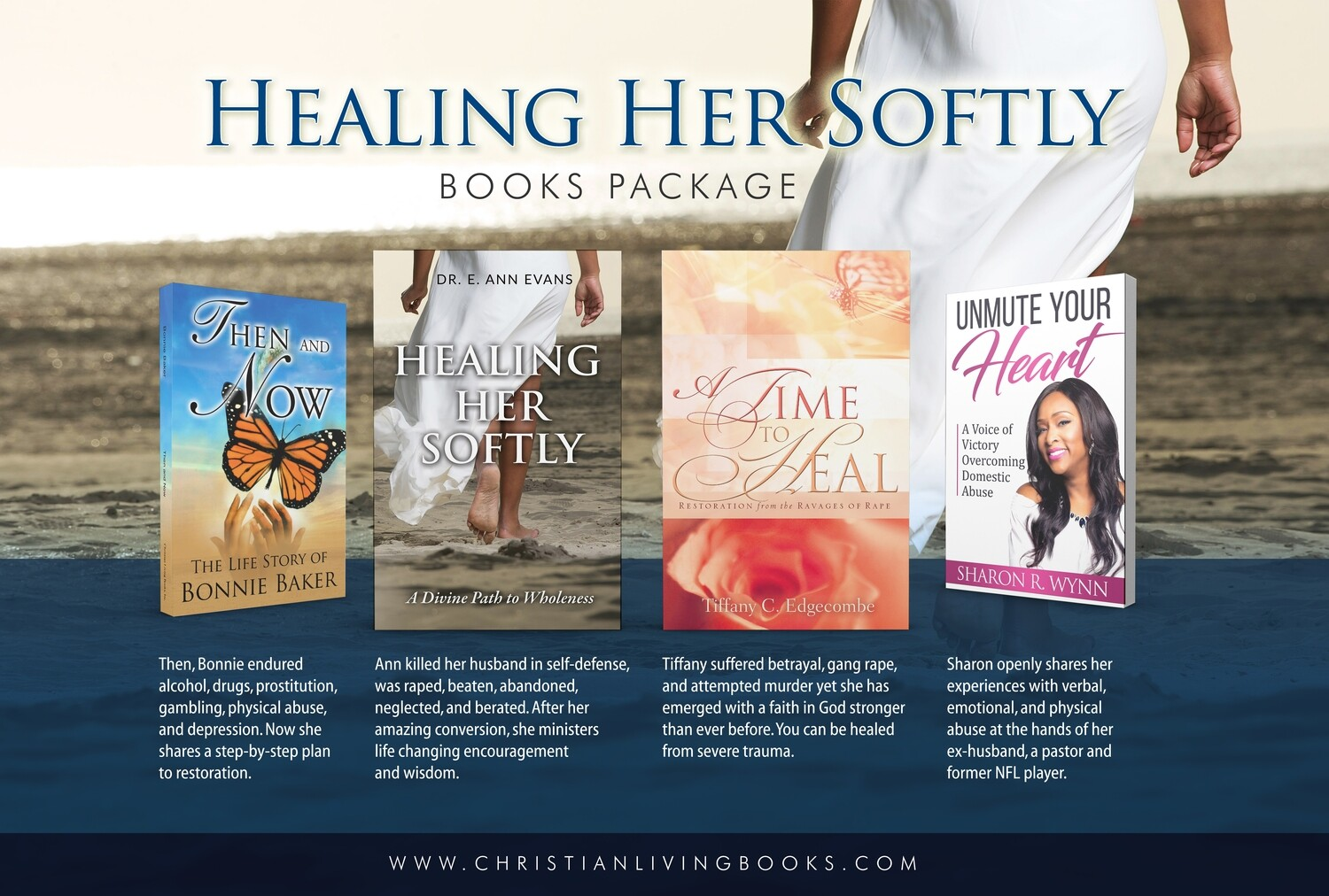 Healing Her Softly Books Package