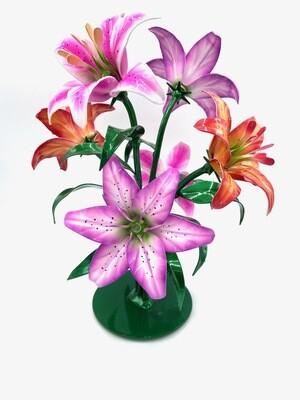 Half Dozen Lily Arrangement